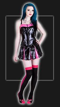 sexiga outfits lackkläder